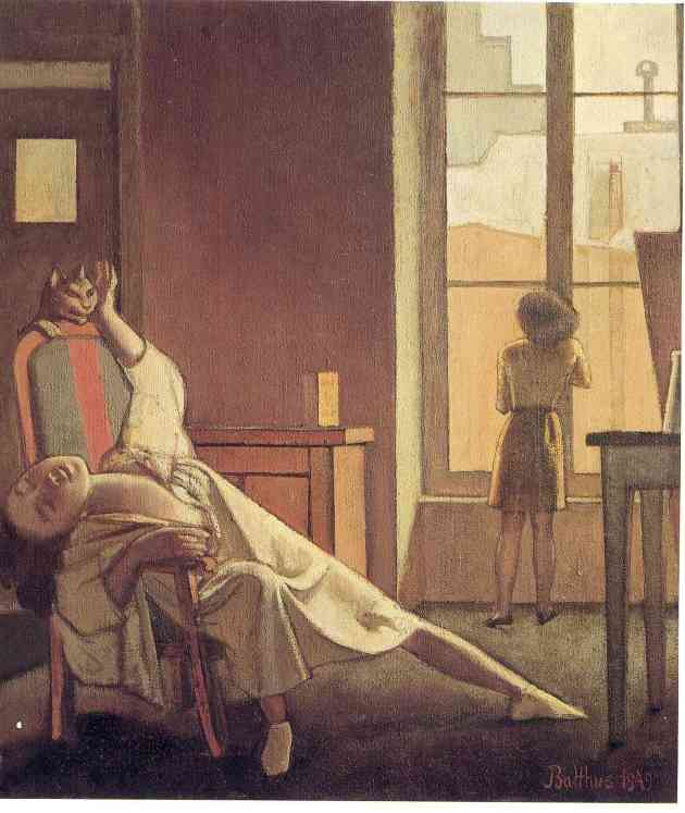 Painting by Balthus: The Week with Four Thursdays (1949)